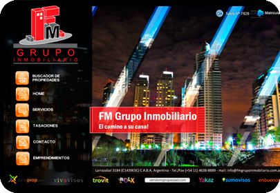 Sitio Web Mobile FM
