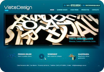 Diseño Web Viste Design